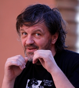 Emir Kusturica arrives at the Marrakech International Film Festival