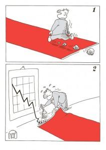 SLOBODAN SRDIĆ karikatura BUDŽET 12.08.2012. LIST Politika