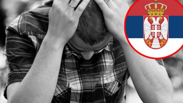 FOTO Srbija u svetu depresije