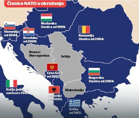 FOTO Nato verio Srbiju