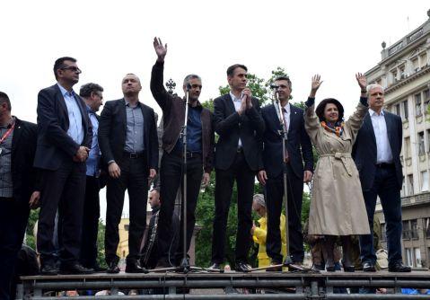 Opozicija u Beogradu održala protest: Razlog zbog čega smo svi ovde danas jeste da odbranimo glas svakog građanina