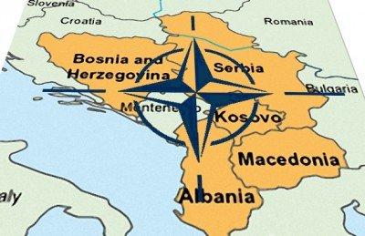FOTO Zapad koči Rusiju na Balkanu