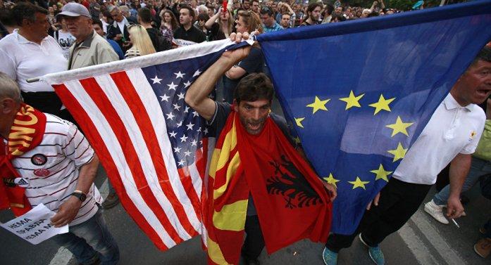 FOTO SAD uz Albance, Rusija lobira za Srbe
